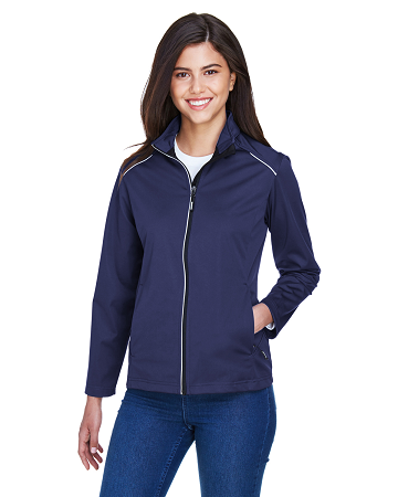 TTC-CLUB-CE708W Core 365 Ladies' Techno Lite Three-Layer Knit Tech-Shell
